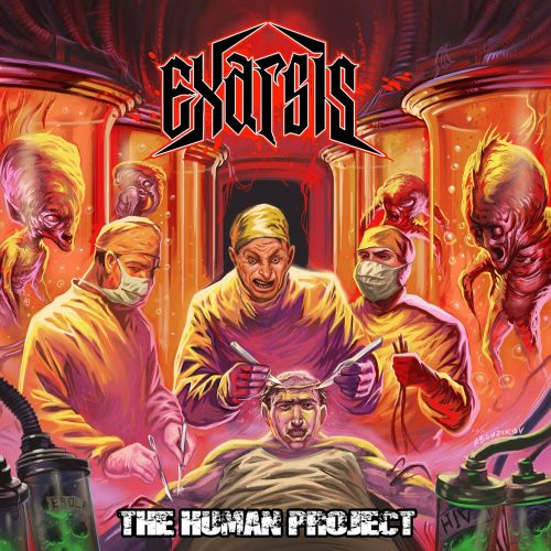 Cover - Exarsis – The Human Project