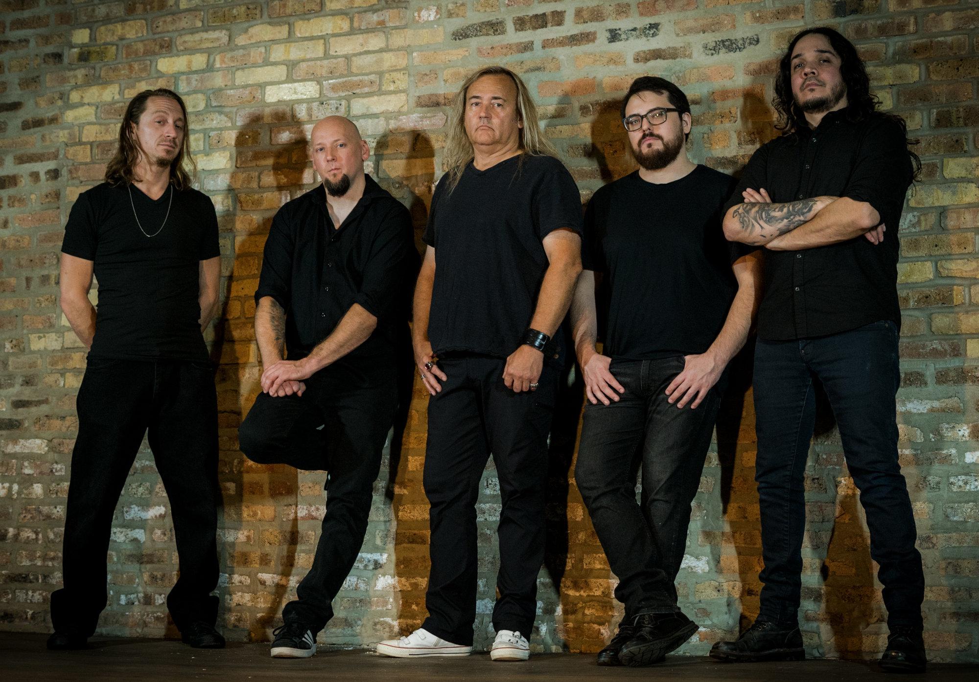 Ein Foto der U.S.-Metal-Band Glacier
