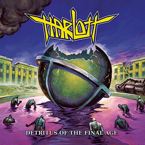 Cover - Harlott – Detritus Of The Final Age