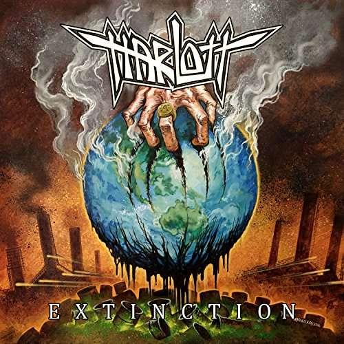 Cover - Harlott – Extinction