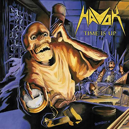 Havok - Time Is Up - Cover