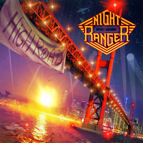 Cover - Night Ranger – High Road