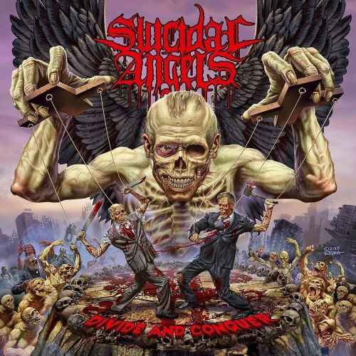 Cover - Suicidal Angels – Divide And Conquer