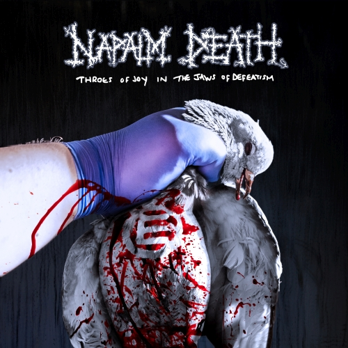 Cover - Napalm Death – Throes Of Joy In The Jaws Of Defeatism