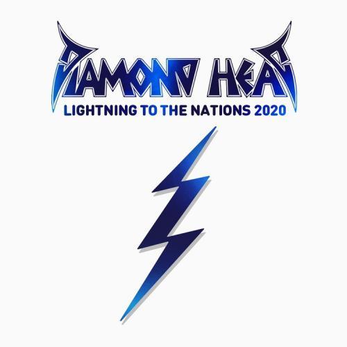 """Das Cover von """"Lightning To The Nations 2020"""" von Diamond Head"""