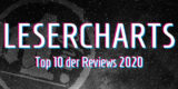Special Grafik Lesercharts – Die zehn meistgelesenen Reviews 2020