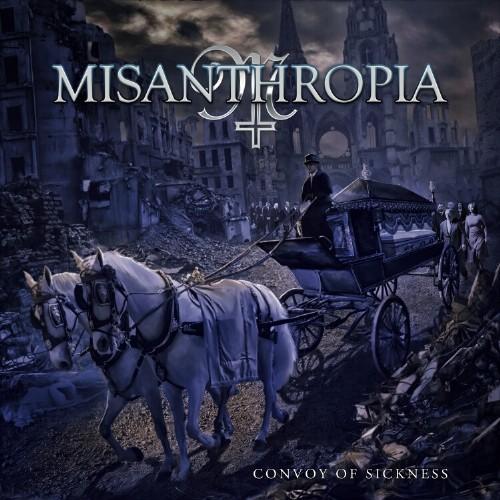 """Das Cover von """"Convoy Of Sickness"""" von Misantrhopia"""