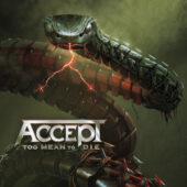 Accept - Too Mean To Die - CD-Cover