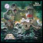 Gama Bomb - Sea Savage - CD-Cover