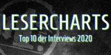Special Grafik Lesercharts – Die zehn meistgelesenen Interviews 2020