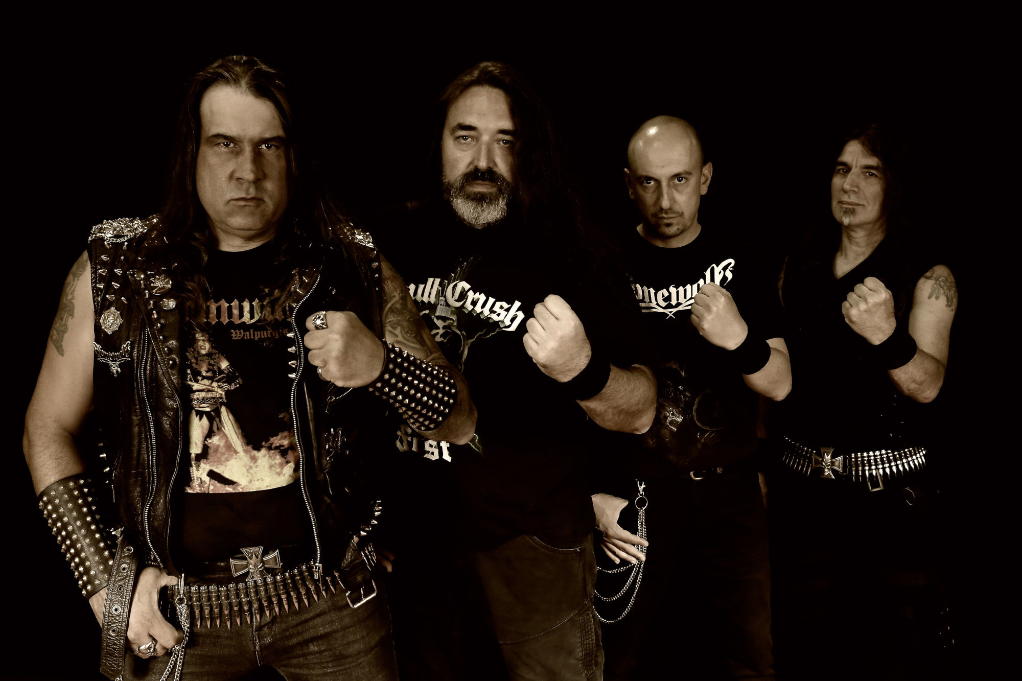 Ein Foto der Band Lonewolf