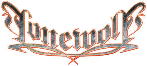 Das Logo der Band Lonewolf