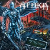 Attika - Metal Lands - CD-Cover