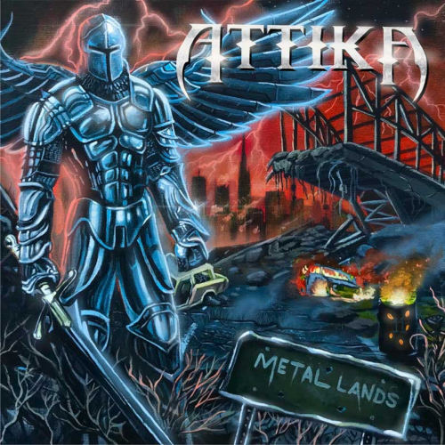 Cover - Attika – Metal Lands
