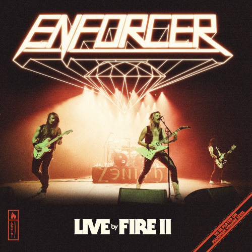 Enforcer - Live By Fire II - Cover