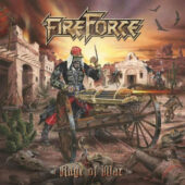 Fireforce - Rage Of War - CD-Cover
