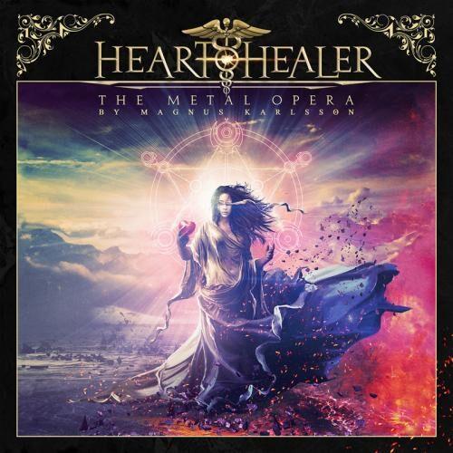 Da Cover des ersten Albums von Heart Healer