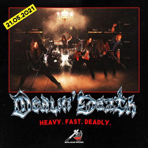"""Ein Ankündigung zum Album """"Dealin' Death"""" von Vulture"""