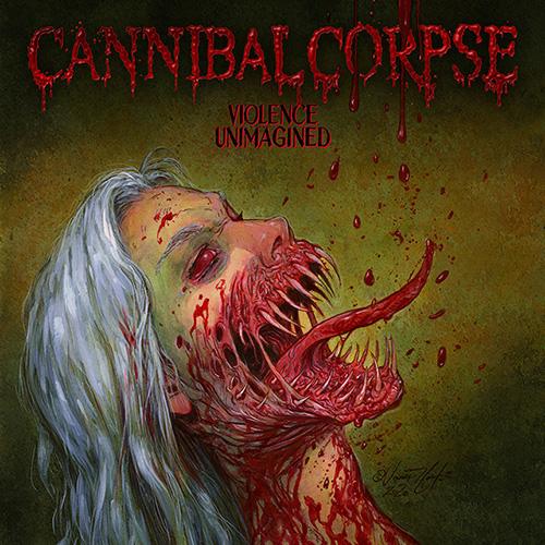 """Das Cover von """"Violence Unimagined"""" von Cannibal Corpse"""