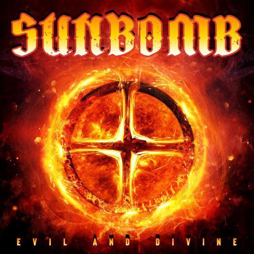 """Das Cover von """"Evil And Divine"""" von Sunbomb"""