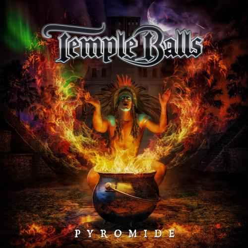 """Das Cover von """"Pyromide"""" von Temple Balls"""