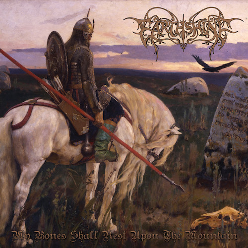 Cover - Earthshine – My Bones Shall Rest Upon The Mountain