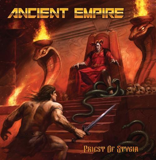 """Das Cover von """"Priest Of Stygia"""" von Ancient Empire"""