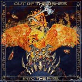 """Das Cover von """"Out Of The Ashes Into The Fire"""" von Axewitch"""