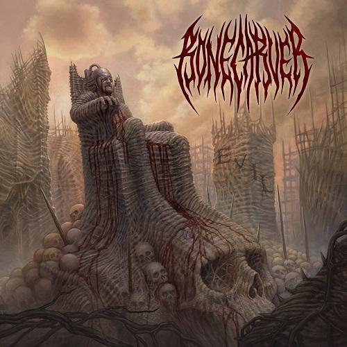 Bonecarver - Evil - Cover
