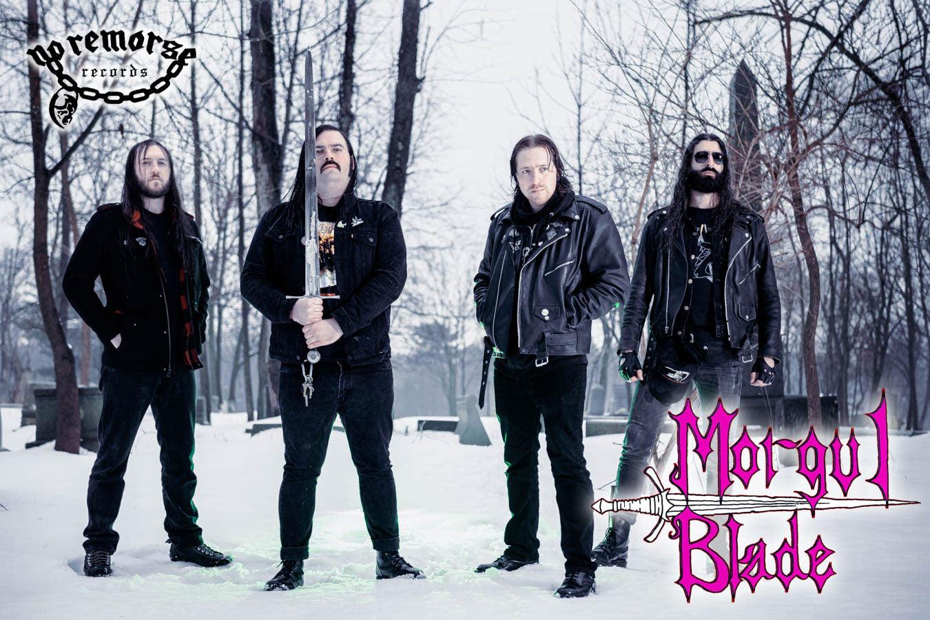 Ein Foto der Band Morgul Blade