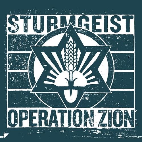 Cover - Sturmgeist – Operation Zion