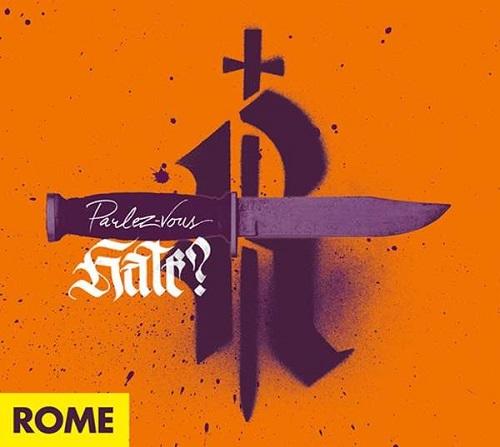 Cover - Rome – Parlez-Vous Hate?
