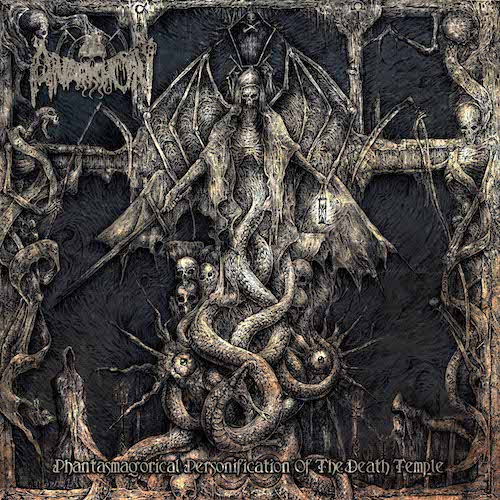 Cover - Anarkhon – Phantasmagorical Personification Of The Death Temple