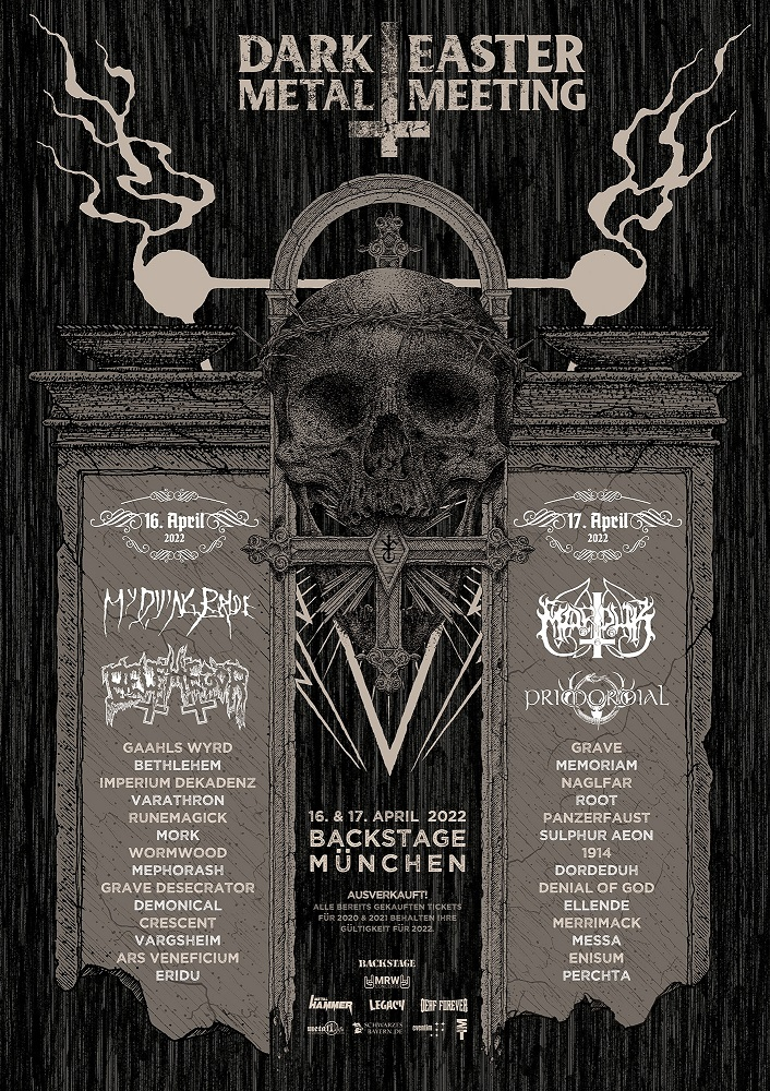 Plakat des Dark Easter Metal Meeting 2022
