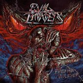 Evil Invaders - Feed Me Violence - CD-Cover