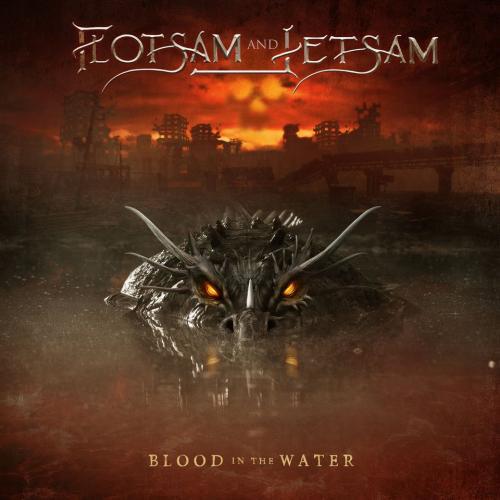 """Das Cover von """"Blood In The Water"""" von Flotsam And Jetsam"""