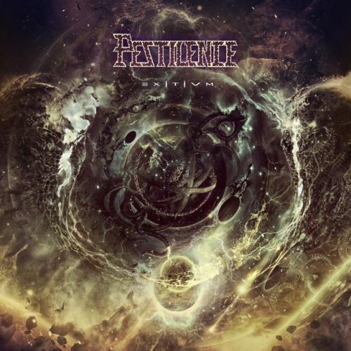 """Das Cover von """"Exitvm"""" von Pestilence"""