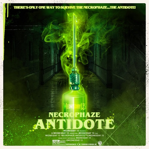 Cover - Wednesday 13 – Necrophaze – Antidote (EP)