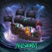 Alestorm - Live In Tilburg (CD+Bluray) - CD-Cover