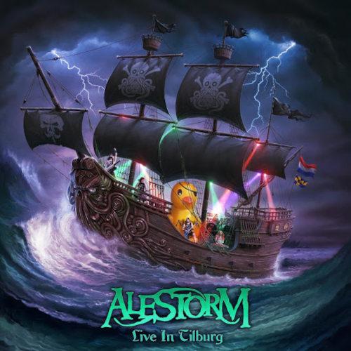 Cover - Alestorm – Live In Tilburg (CD+Blu-ray)