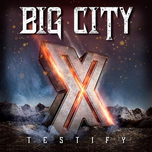 """Das Cover von """"Testify X"""" von Big City"""