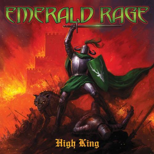 """Das Cover von """"High King"""" von Emerald Rage"""