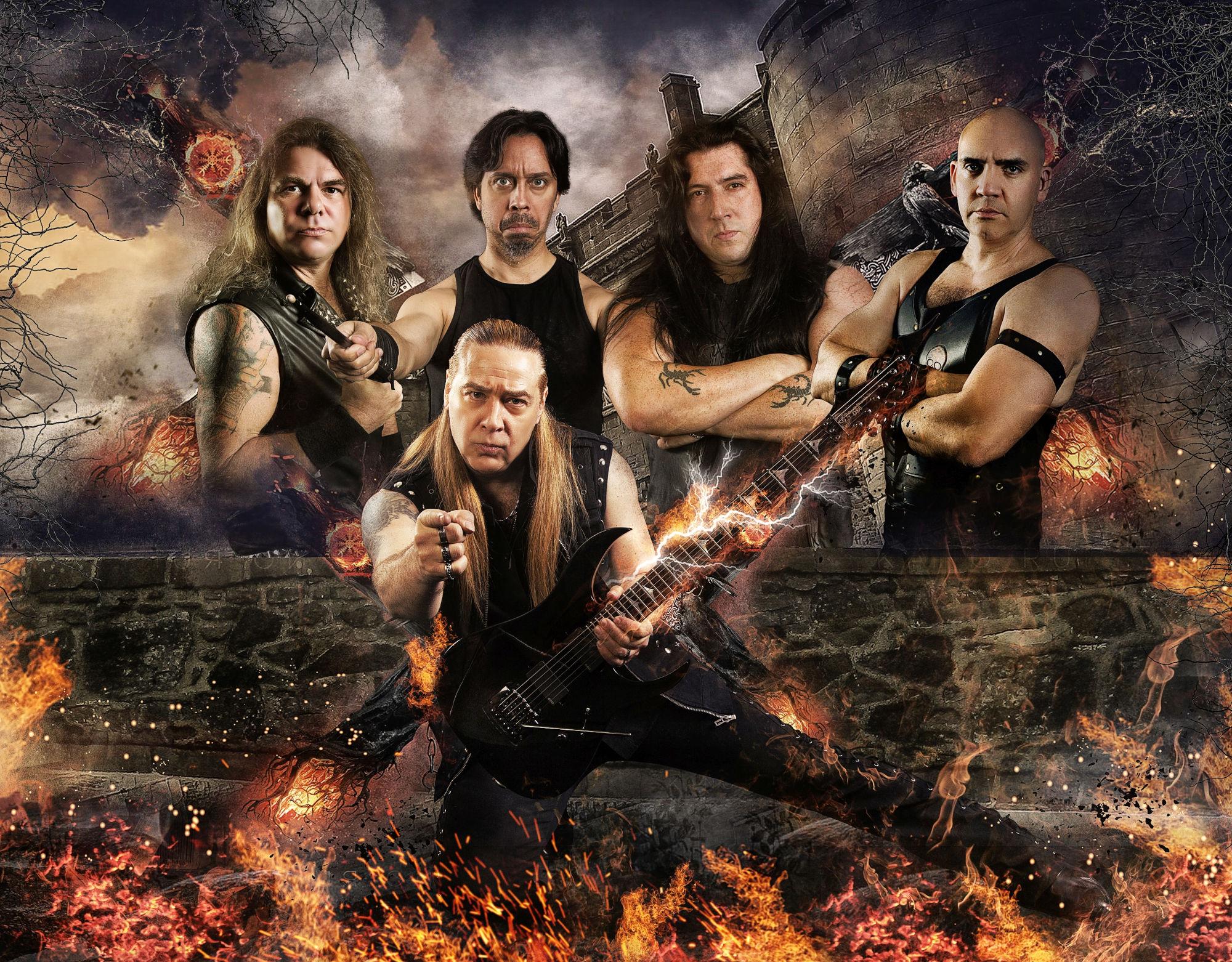 Ein Foto der True-Metal-Band Feanor