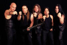 Ein Foto der Band Feanor