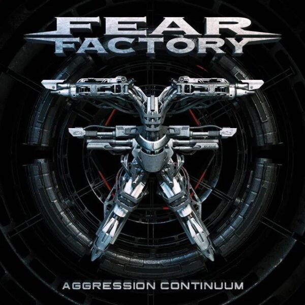 Cover - Fear Factory – Aggression Continuum
