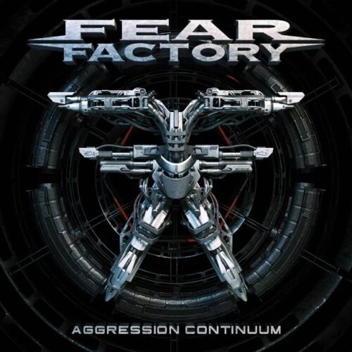 Fear Factory - Aggression Continuum - Cover