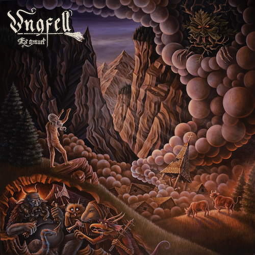Cover - Ungfell – Es grauet