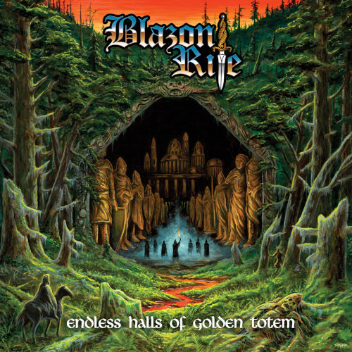 Cover - Blazon Rite – Endless Halls Of Golden Totem