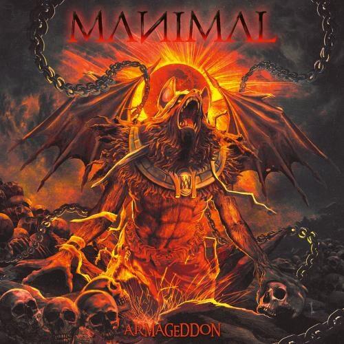 """Das Cover von """"Armageddon"""" von Manimal"""