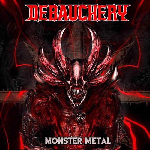 Cover - Debauchery – Monster Metal